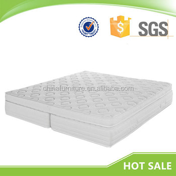 Five Star Hotel Removable Pillow Top Relax Foam Spring Mattress