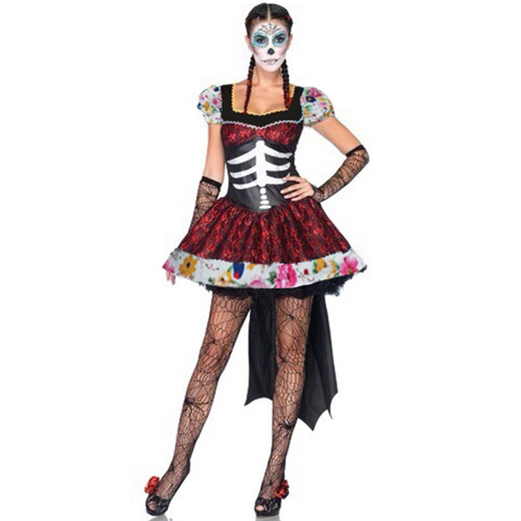 Aliexpress.com : Buy Beautiful Adult Skeleton Day Of The
