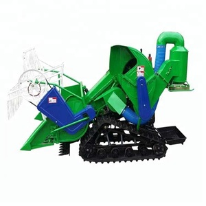 New mini wheat rice grain harvester free shipping