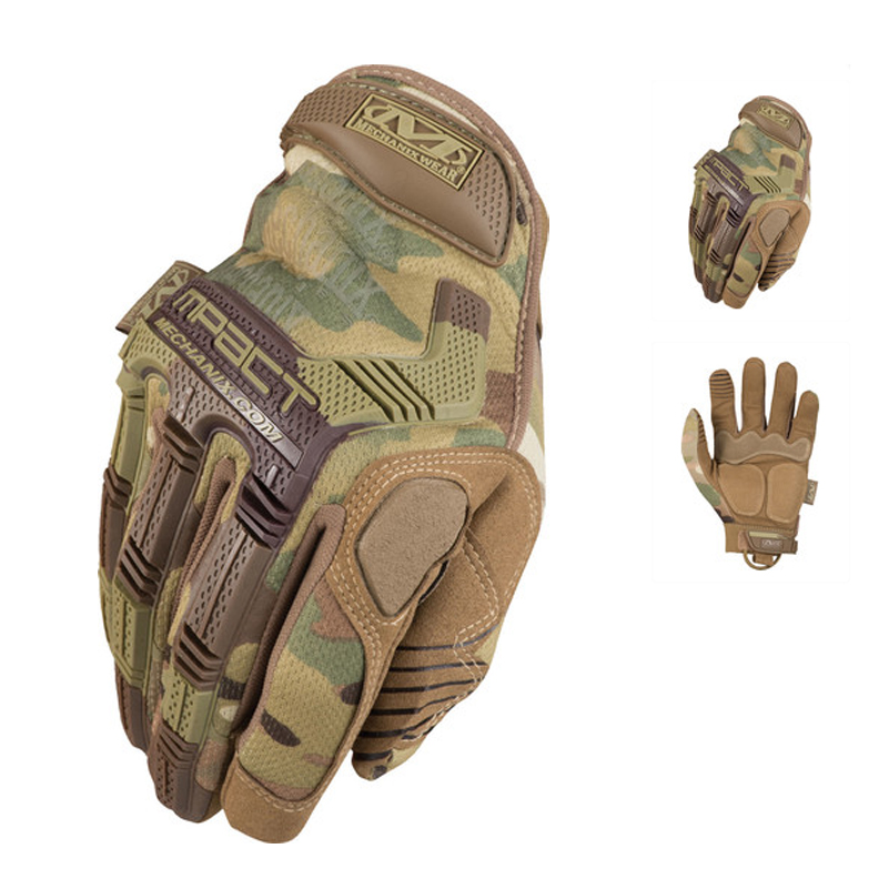 Новый оригинальный Mechanix одежда камуфляж тактический Airsoft военная пейнтбол стрельба охота открытый вооруженные полный перчатки пальцев