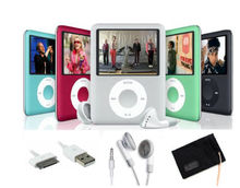 8GB Magro Mp3 <span class=keywords><strong>Mp4</strong></span> Mp5 Player com Tela de LCD, Rádio FM & Movie Player