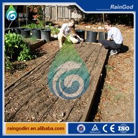 new plastic garden watering drip irrigation system