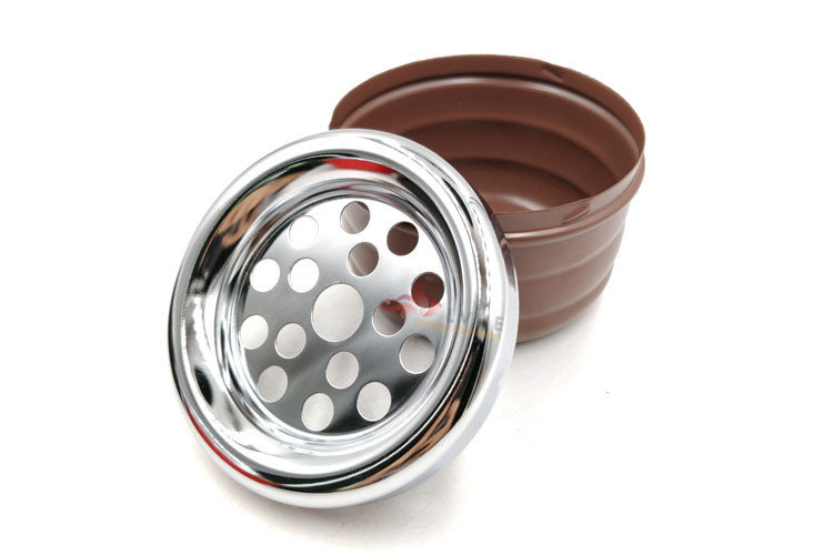 T027AP LVHE Promotion Gift Multiple Colors Simple Smokeless Standing Ashtray Outdoor