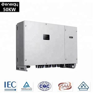 Dc to ac 4 MPPT Industrial On-grid 50kw solar inverter india