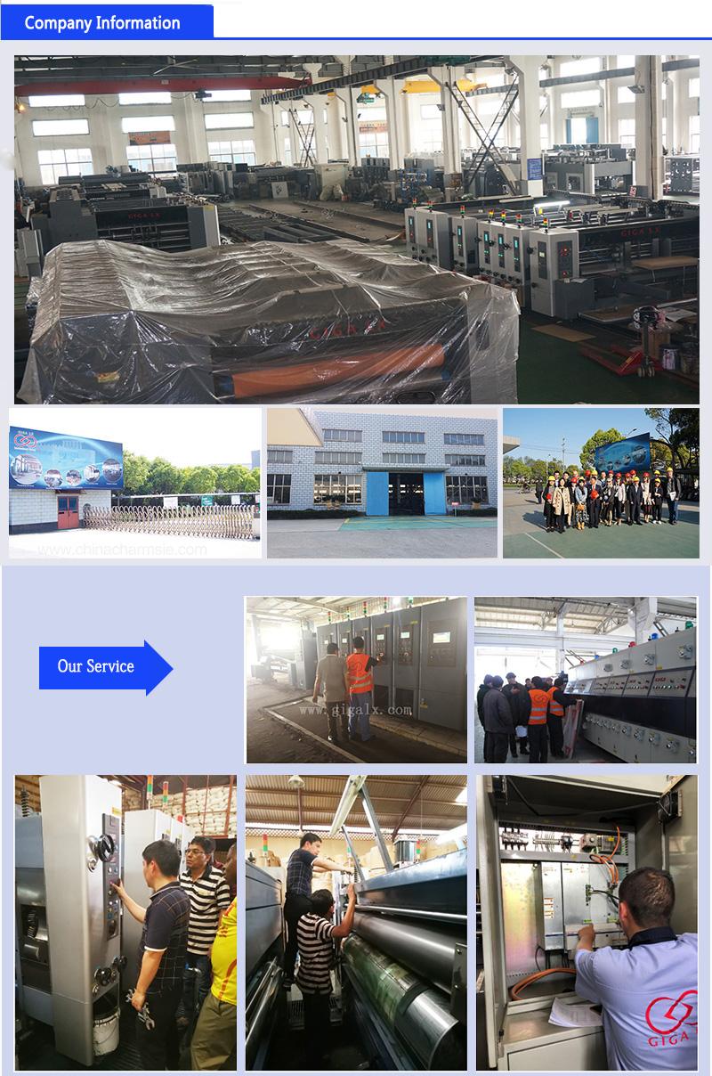 GIGA LX 708N Fixed Units Corrugated Carton Flex Printing Machinery paper flexo printer price