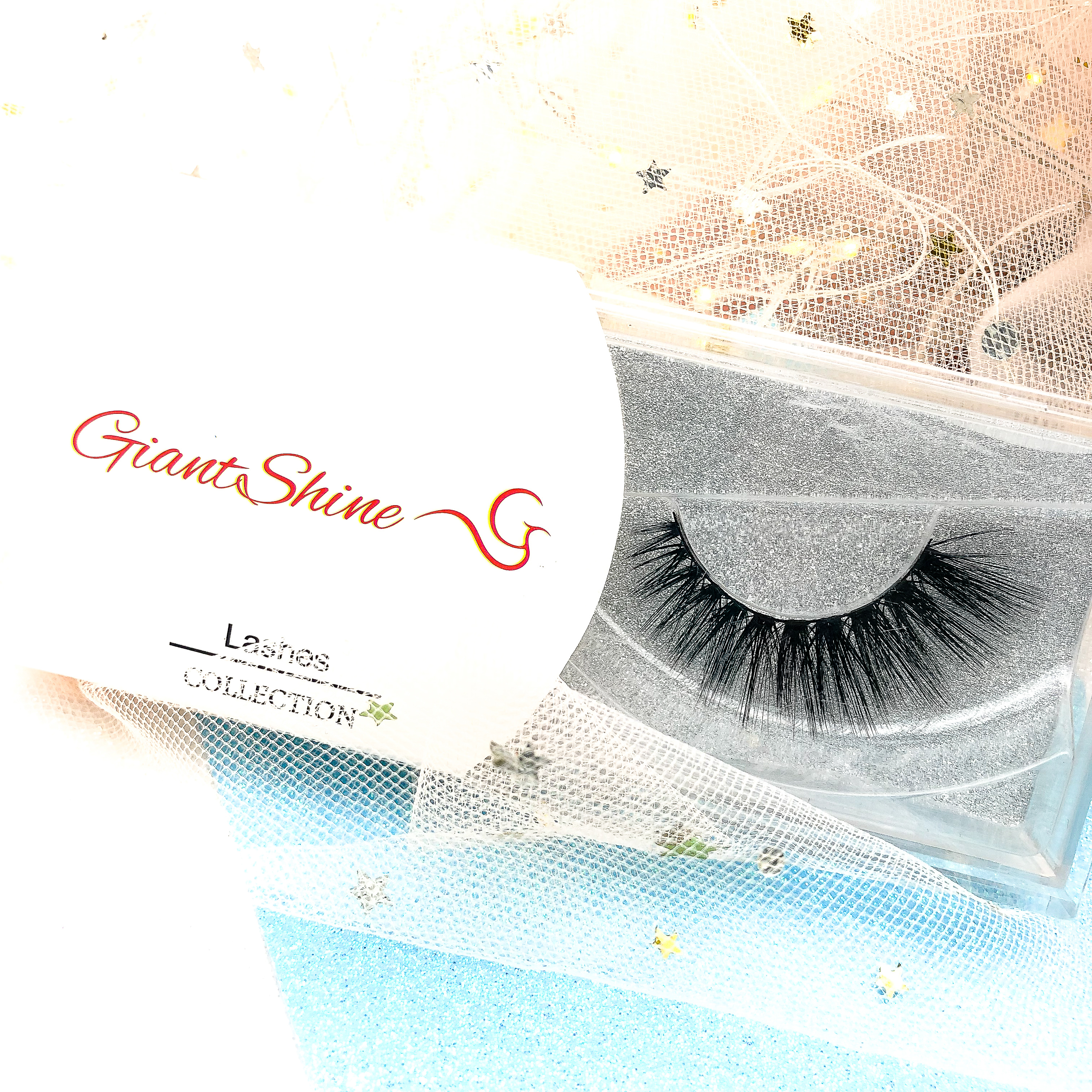 Eyelashes vendor individual luxury private label 3D mink Fur False Eyelashes 3D Silk Eyelash with custom packaging box, Natural black