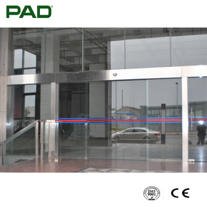 Wide Voltage Glass Wall Hanging Glass Door with CE Certificate