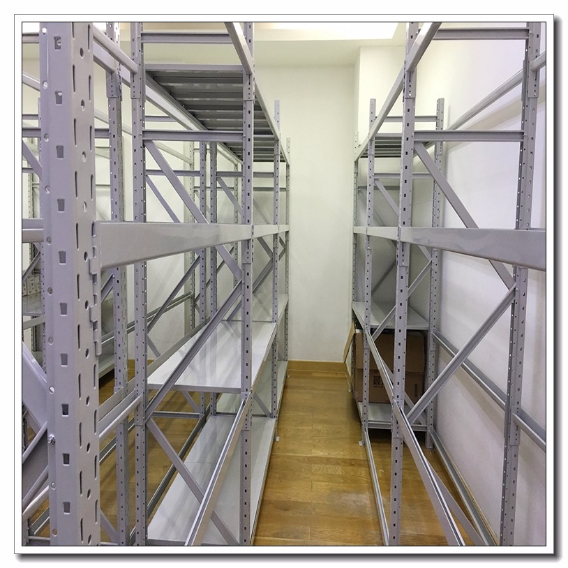 China ISO supplier medium duty metal shelving system storage rack