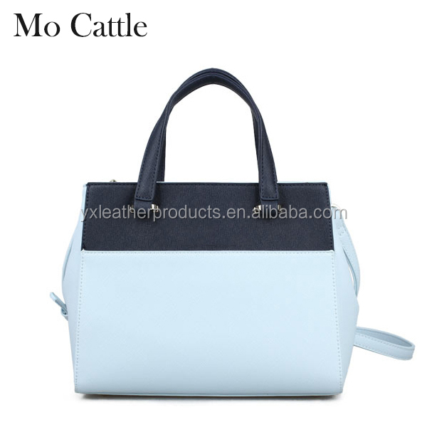 Middle aged women PU leather promotional handbag bag accessories
