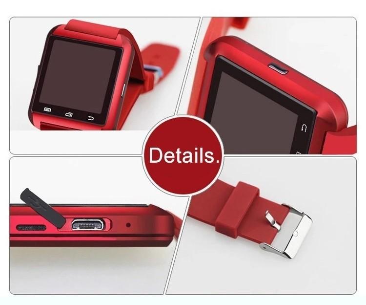 2019 New BT Smartwatches U8 Touch Screen 대 한 IOS 와 콜 경고