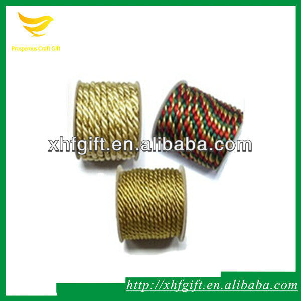 High quality braided rayon tassel cord