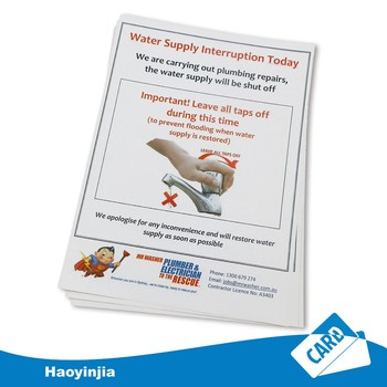 glossy/matt laminated paper poster paper flyers printing - buy a4 ...