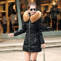 C58555S New 2015 Fashion Winter Female Down Jacket Women Clothing Winter Coat Color Overcoat Women Jacket