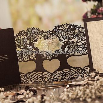 3d magic tree wedding invitation card laser cut cw5023 view 3d 3d magic tree wedding invitation card laser cut cw5023 stopboris Image collections