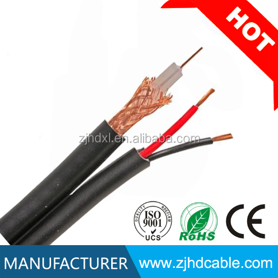 factory price and good quality rg59 rg6 rg7 rg 11 semi finished coaxial cable