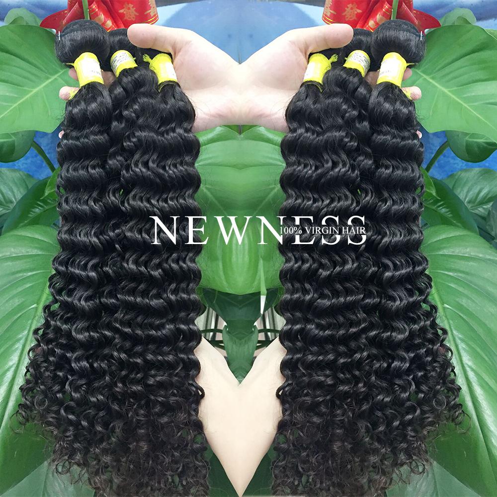Grade 8a 100 Human Hair Bangsperuvian Deep Wave Shes Happy Hair