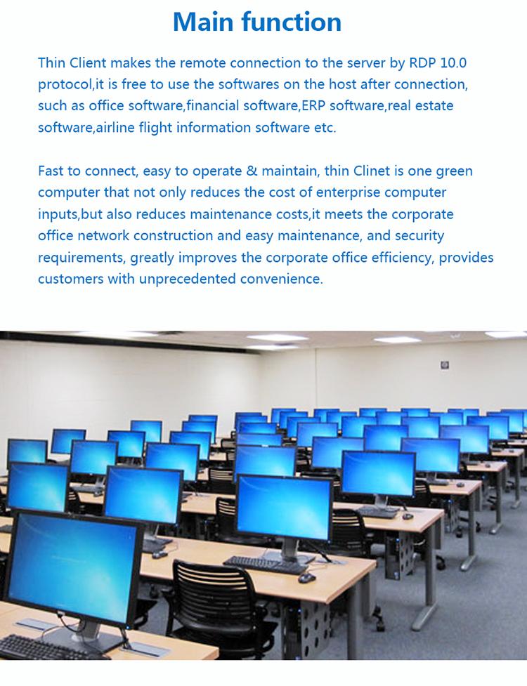 安価なシンクライアント TC600 pc ステーションアーム 2.0 ghz CPU 、 512 メートル/ギガバイト 1 DDR3 とギガバイト 4 収納オフィスのために使用、学校