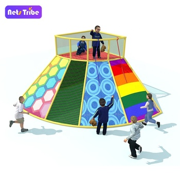 Netstribe Children indoor play ground rope net  climbing station