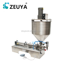Best Price Automatic piston filler paste filling machine with mixing hopper G1WT With CE