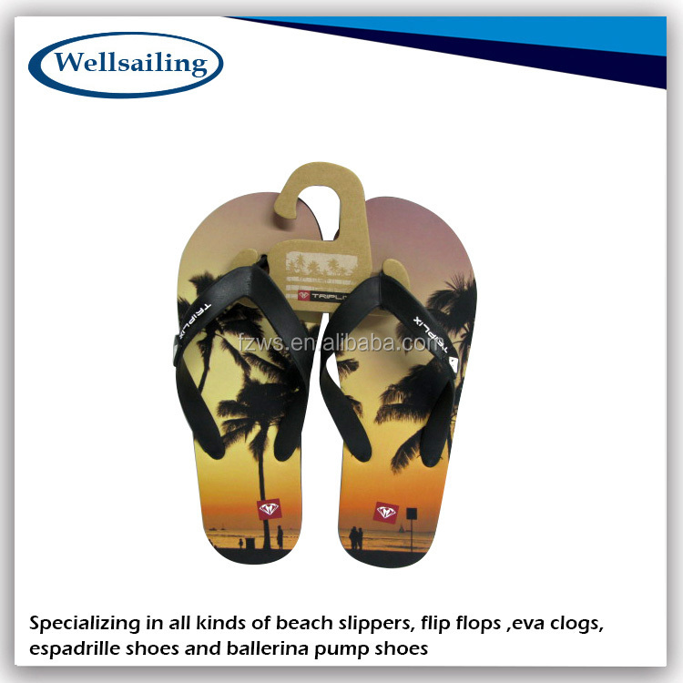 China Customized Hot Fashion thick sole flip flop,flip flop slipper