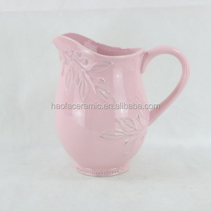 ceramic milk pot/Wide Milk Jug Cream Jug Cofffee Pot