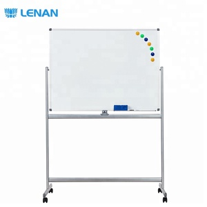 2019 New Mobile Magnetic Whiteboard Classroom Height Adjustable Writing White Board with Stand Wholesale Price for School Office