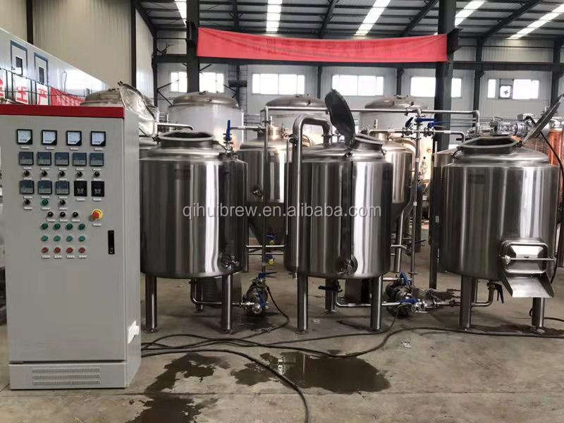 Stainless steel 200L 300L pub brewery equipment for craft beer