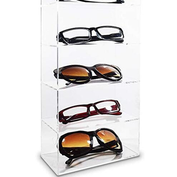 Floor Standing Acrylic Glasses Display Holder Buy