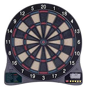 Arachnid, Cricketech Electronic Dart Board LCD Display Includes 6 Soft Tip Darts Safe for Children