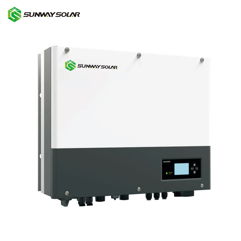 6kw Inverter with remote monitoring device 6kw inverter/ converter wifi control for family solar power system