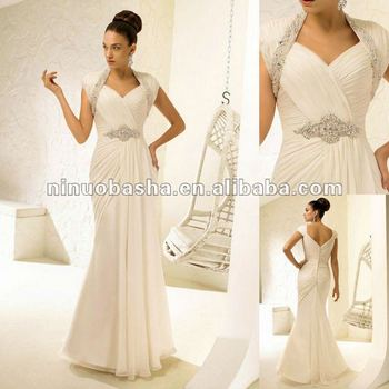Sweetheart Neckline,Glamorous Grecian-style Framed By Capped Sleeve ...