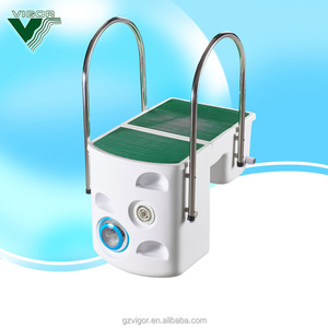 Factory wall hung pipeless integrated filter pump combo water filtration system