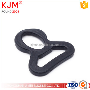 Plastic D Ring Webbing Strapping 1 Inch Dee Ring Leather Bag Shirt D Ring buckle