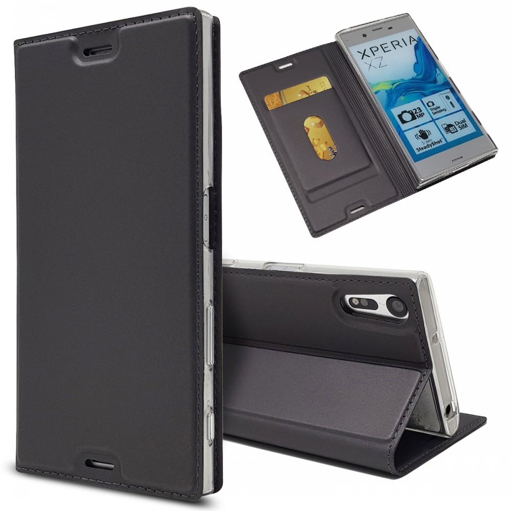 Magnetic Wallet Slim Leather Cover Phone Case For Sony Xperia X XA XA1 Plus XA2 Ultra XZ XZS XZ1 Compact XZ2 Premium XZ3