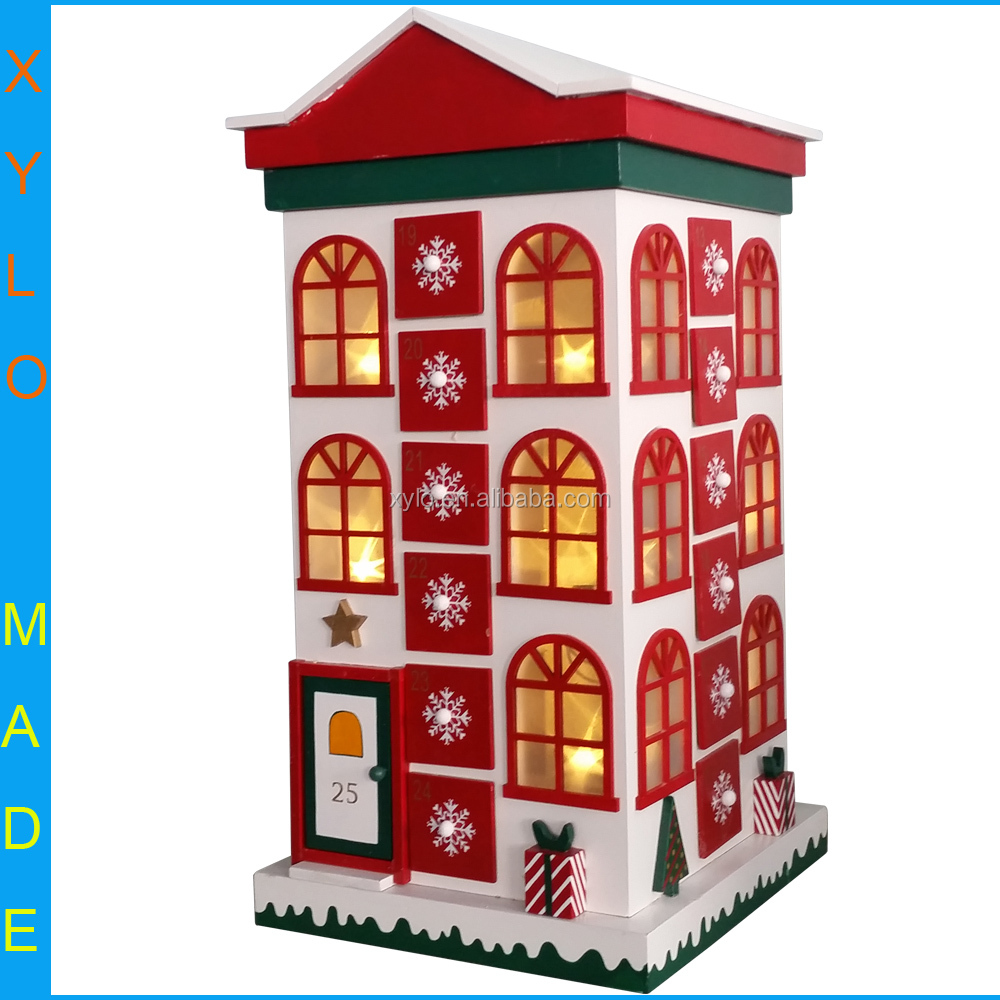 Wooden Advent Calendar Buy John Lewis Croft Collection