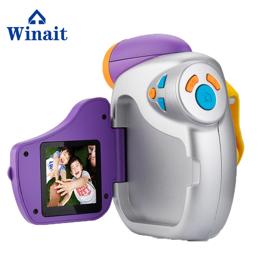 DV-C7 yap-mikrofon çocuk mini video kamera için 4x dijital zoom kamera max 5 Mega Piksel çocuklar dijital video kamera