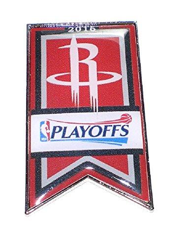 Houston Rockets Basketball Lapel Pin Banner Design 2016 NBA Playoffs