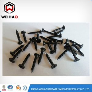 1 inch 8 coarse thread drywall screw with bugle head