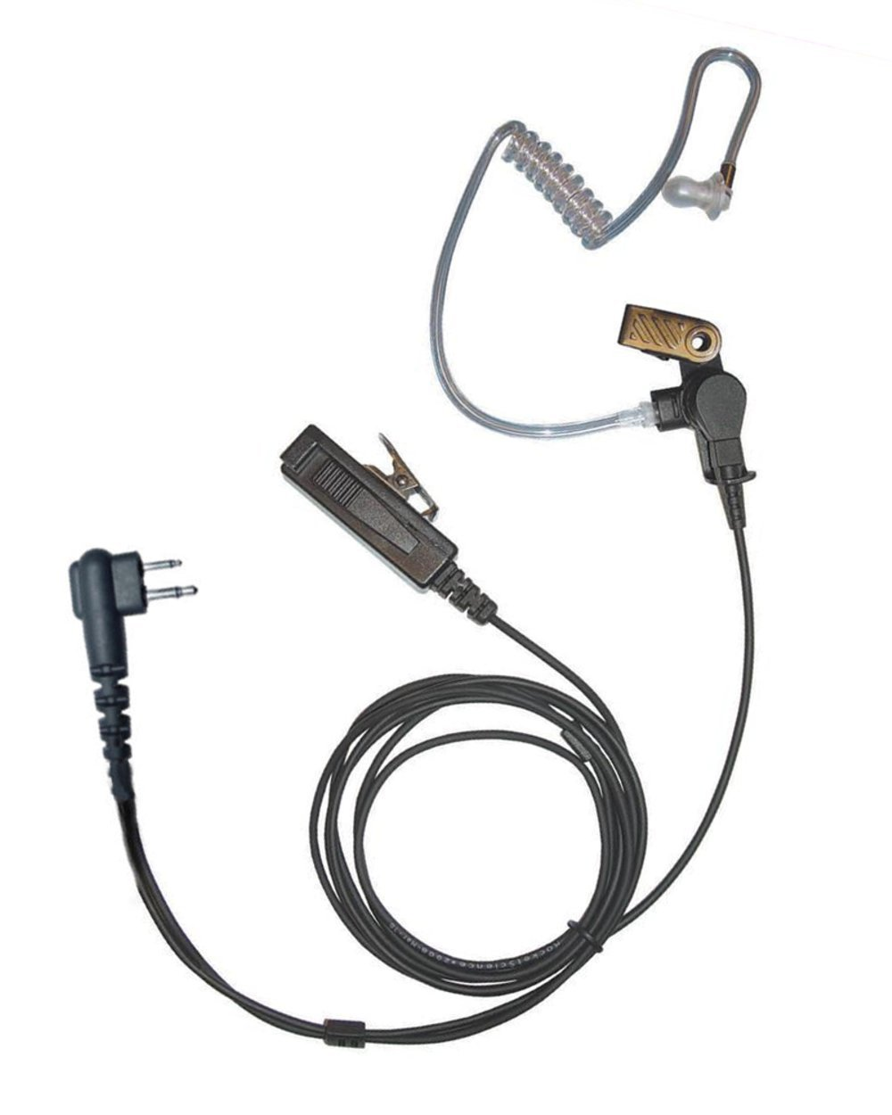 Antennas Director 2-Wire Earpiece for Kenwood Radios Director-K1 Walkie Talkie/Two-Way Antennas