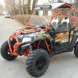 Gasoline 400CC Rough Terrain Off Road Fang Power UTV