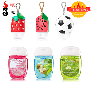 Factory direct sell 1 oz hand sanitizer gel antibacterial with pocketbac holders