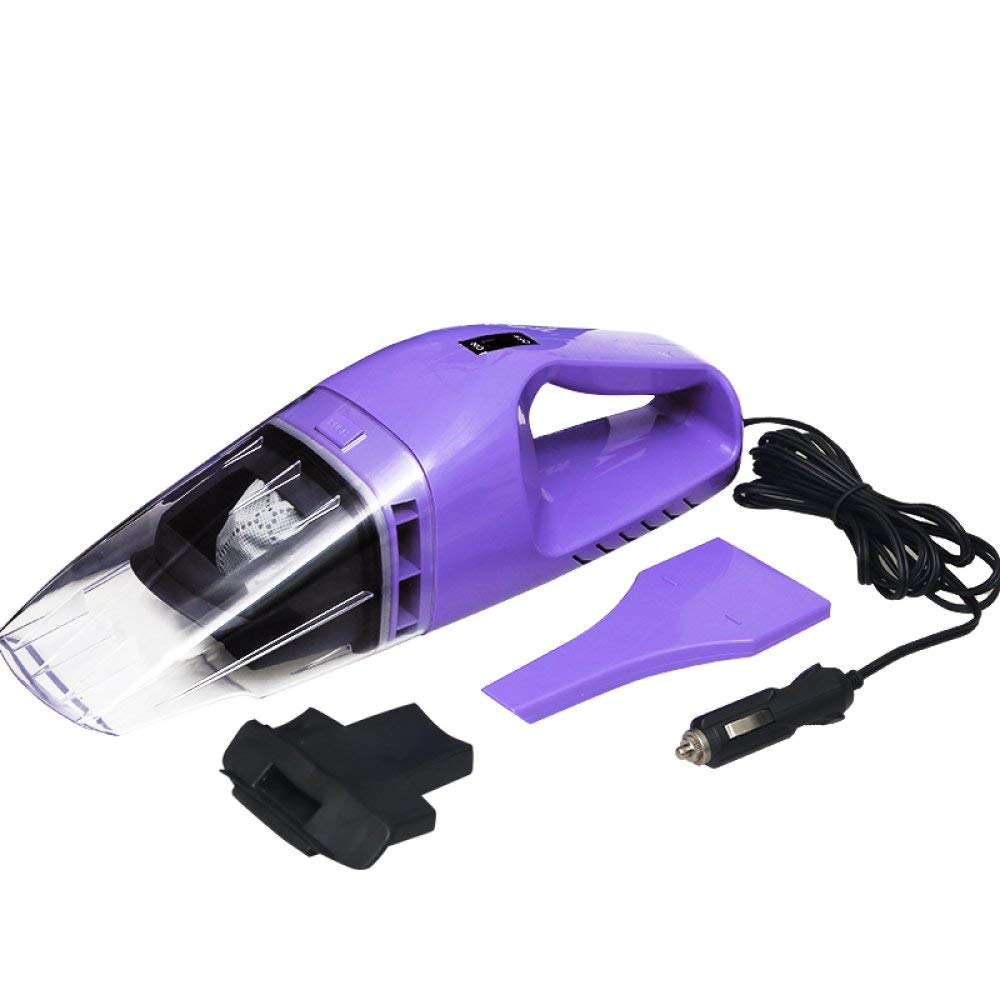 Car Vacuum Cleaner High Power Car Vacuum Cleaner Car Special Purpose Car Household Small Strength Wet \u0026 Dry,Purple