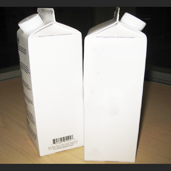 250ml,500ml multilayer juice gable top pack/gable top milk carton