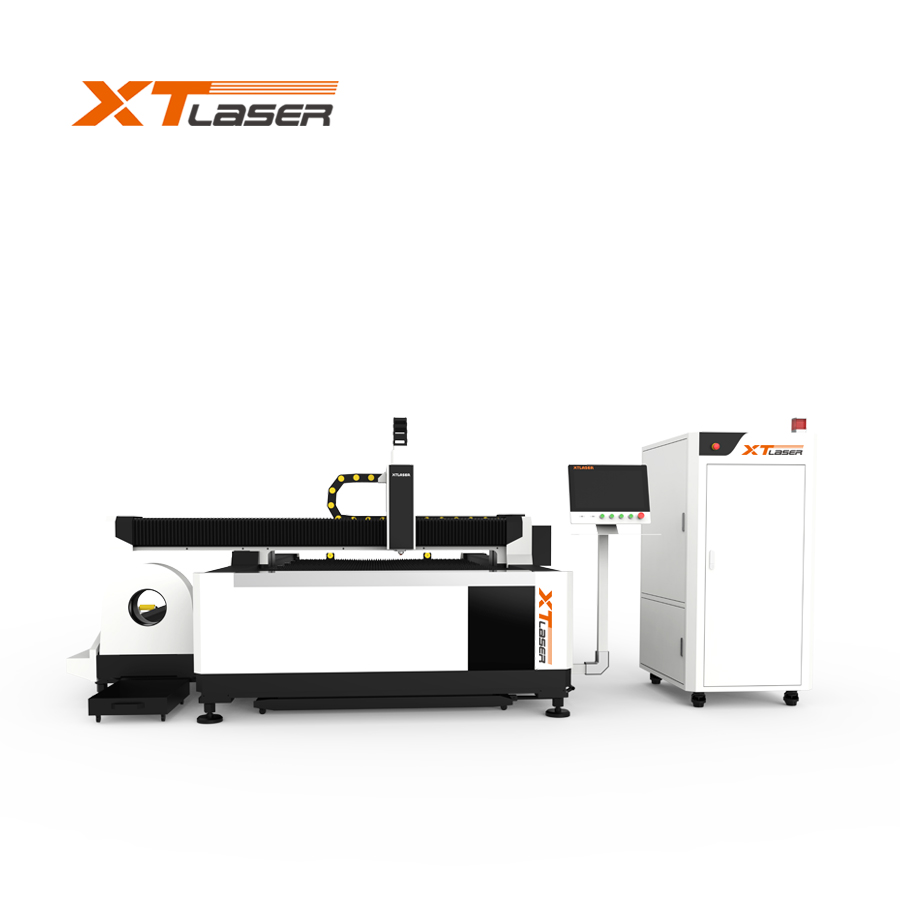 Jinan supplier fiber laser cutting machine price with 5 years warranty
