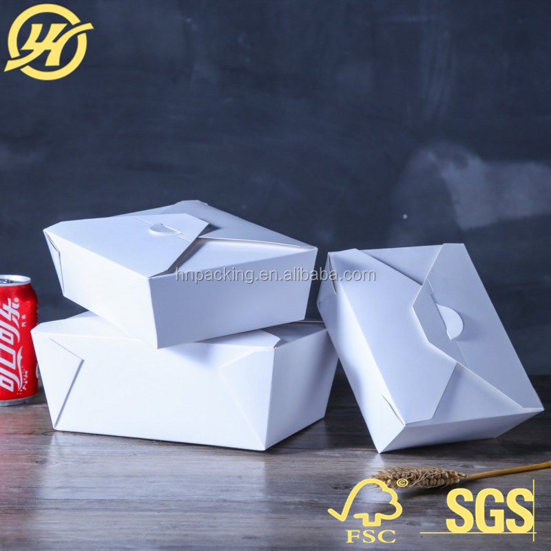 Disposable Paper Food Grade Pail Box