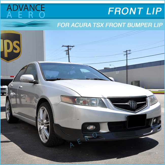 For Acura Tsx Mg Urethane Front Bumper Lip Spoiler Bodykits - Acura tsx front bumper