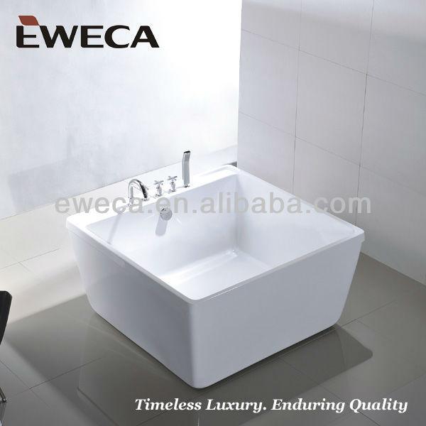 1200 Small Square Bathtub - Buy Square Bathtub,Small Bathtub,Square ...