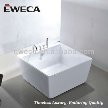 1200 small square bathtub buy square bathtub small for Small baths 1200