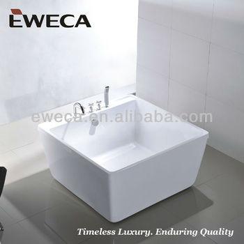 1200 small square bathtub buy square bathtub small for Small baths 1200