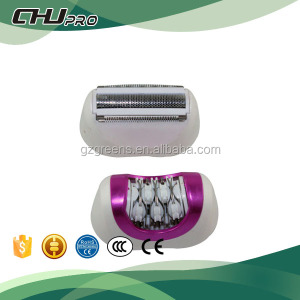Electric brown epilator hair removal for women